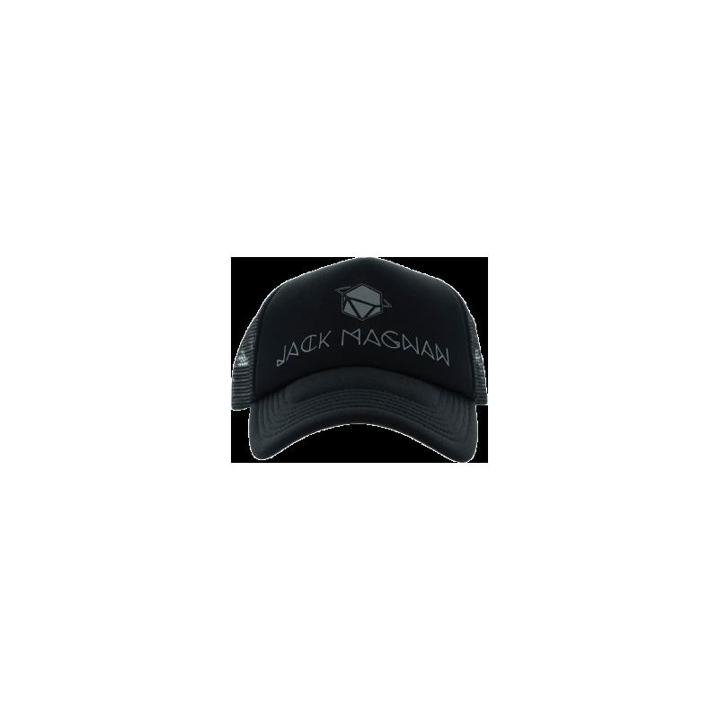 casquette trucker Jack Magnan - logo réfléchissant