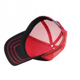 casquette filet rouge