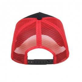 casquette trucker rouge