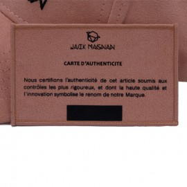 certificat d'authenticité rose peachy