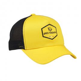 casquette trucker jaune