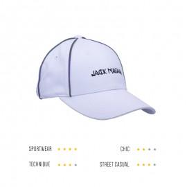 « Signature » White & Black : casquette signature jack magnan, spécialiste du couvre-chef.