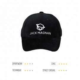 casquette velours noir.