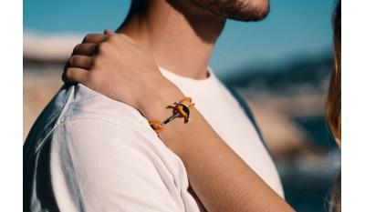 Bracelet ancre marine - Jack Magnan
